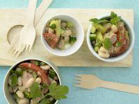 Italienischer Bohnen-Thunfisch-Salat Rezept